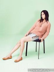 Han Ga In для Elle April 2013