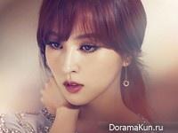 Han Hye Jin для Elle February 2013