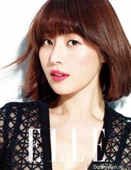 Han Ji Hye для Elle March 2013
