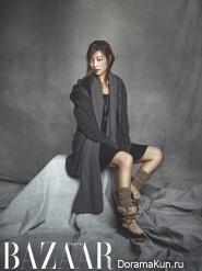 Han Ji Hye для Harper's Bazaar October 2013