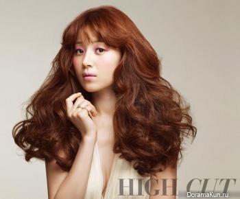 Han Ji Hye для High Cut Vol. 97