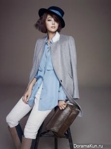 Han Ji Hye для MOGG Winter 2012 CF
