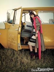 Han Ji Min для The Traveller November 2012