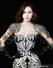 Han Ye Seul для Harper's Bazaar December 2012 Extra