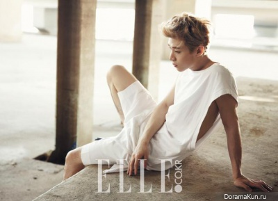 Henry для Elle Korea July 2013