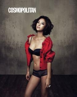 Hwang Jung Eum для Cosmopolitan Korea 2010