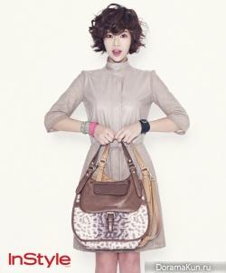 Hwang Jung Eum для InStyle Korea 2012