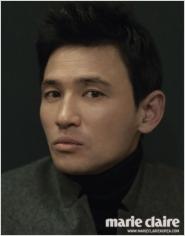 Hwang Jung Min для Marie Claire Korea 2012