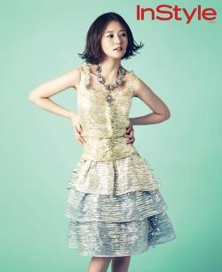 Im Jung Eun для InStyle Korea May 2012