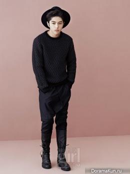 L (Infinite) для Vogue Girl Korea November 2013 Extra