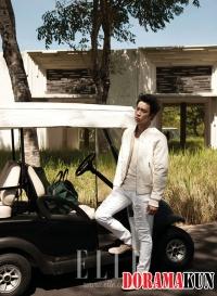 JYJ's Micky Yoochun для Elle Korea July 2012 Extra