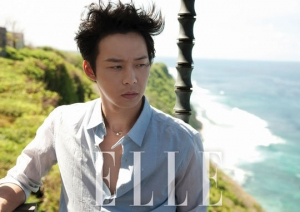 JYJ's Micky Yoochun для Elle Korea July 2012