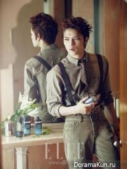 Jaejoong (JYJ) для Elle November 2012