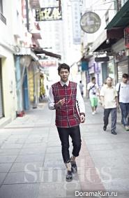 Yoochun (JYJ) для Singles July 2014