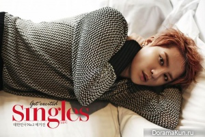 JYJ (Junsu) для Singles Magazine June 2014