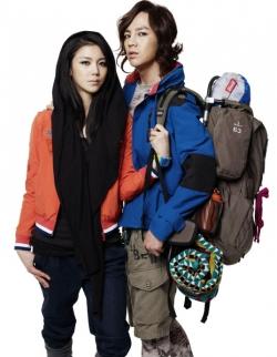 Jang Geun Suk, Kim Ok Bin для Codes Combine Hiker