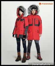 Jang Geun Suk, Song Min Jeong для FERRINO F/W 2013 Campaign
