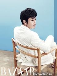 Jang Hyuk для Harper's Bazaar Korea August 2013