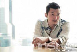 Jang Hyuk для InStyle April 2013