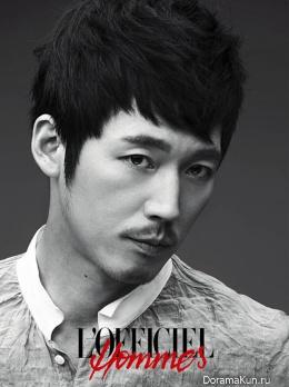 Jang Hyuk для L'Officiel Hommes August 2013