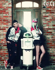 Jay Park для CéCi May 2012