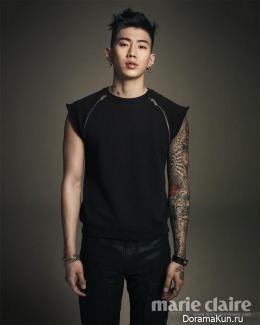 Jay Park для Marie Claire Korea June 2013