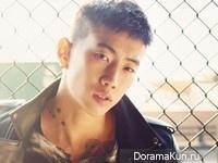 Jay Park для Singles December 2012
