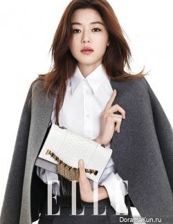 Jeon Ji Hyun для Elle Korea February 2014