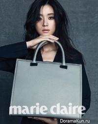 Jeon Ji Hyun для Marie Claire Korea October 2013
