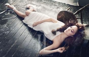 SNSD's Jessica для W Korea November 2011