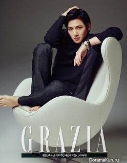 Ji Chang Wook для GRAZIA January 2014