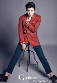 Ji Chang Wook для Gentleman June 2014