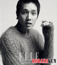 Ji Hyun Woo для Elle Korea November 2011