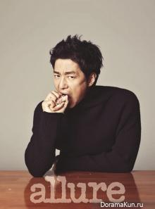 Ji Jin Hee для Allure November 2012