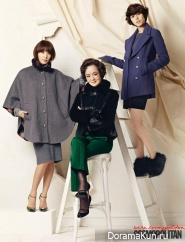 Ji Jin Hee и др. для Cosmopolitan December 2012