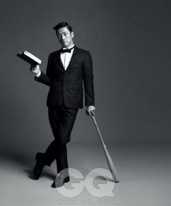 Ji Jin Hee для GQ Korea 2012