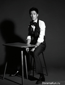 Ji Jin Hee для Harper's Bazaar November 2012 Extra