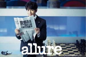 Ji Sung для Allure December 2012