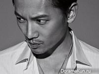Ji Sung для Singles July 2014