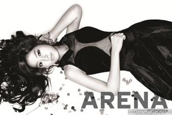 Jin Se Yeon для Arena Homme Plus December 2012