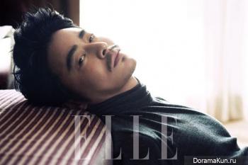 Jo Jung Seok для Elle Korea October 2012