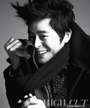 Jo Jung Seok для High Cut Vol. 93