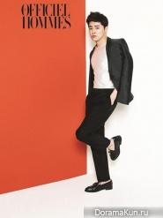 Jo Jung Seok для L'Officiel Hommes June 2014