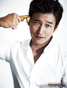 Jo Seung Woo для Cosmopolitan October 2012