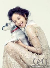 Jo Yoon Hee для Ceci October 2011