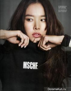 Jo Yoon Hee для Singles Magazine February 2014