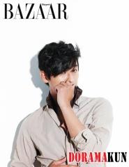 Joo Ji Hoon для Harper's Bazaar Korea August 2012