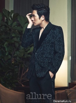 Joo Sang Wook для Allure November 2013 Extra