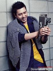 Joo Sang Wook для Cosmopolitan Korea May 2013