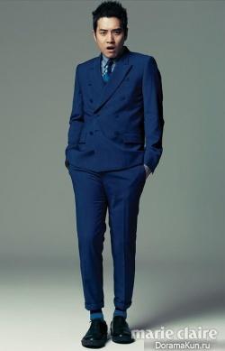 Joo Sang Wook для Marie Claire Korea August 2013